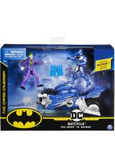 Batman Batcycle avec 2 Figurines 10 cm. Bizak 6192 7830