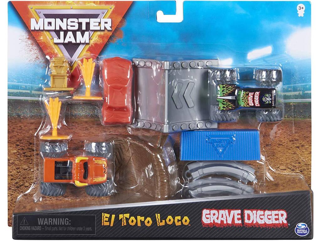 Monster Jam 1:70 Set de Trucos Bizak 6192 8725
