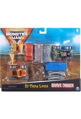 Monster Jam 1:70 Set de Truques Bizak 6192 8725