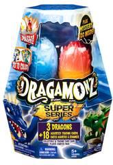 Dragamonz Multi Pack Sorpresa con 3 Dragones y 18 Cartas TCG Bizak 6192 6903