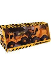 Camion per lavori stradali ed escavatore AVC 5107