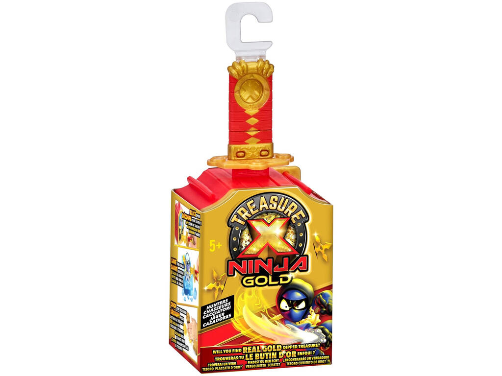 Treasure X Ninja Gold Figuras Cazadores Famosa 700016680