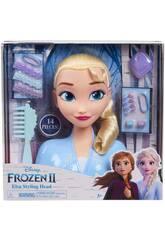 La Reine des Neiges Tête à Coiffer Elsa FRND2000