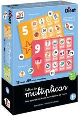 Tables de multiplication Diset 68973