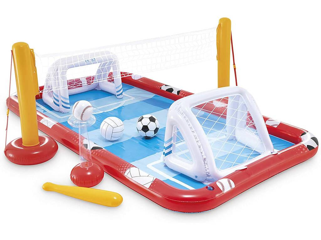 Centre de Jeux Gonflable Action Sport 325 x 267 x 102 cm Intex 57147