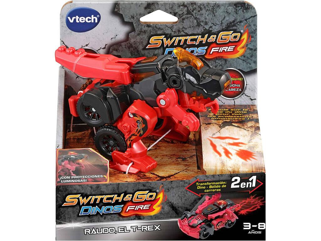 Switch & Go Dinos Raudo T-Rex Vtech 537922