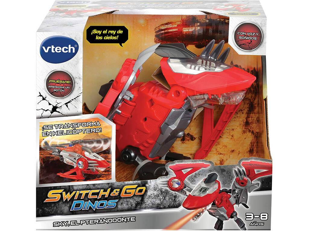 Switch & Go Dinos Sky El Pteranodonte Vtech 197322