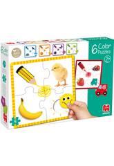 Puzzle 6 Color Goula 53475
