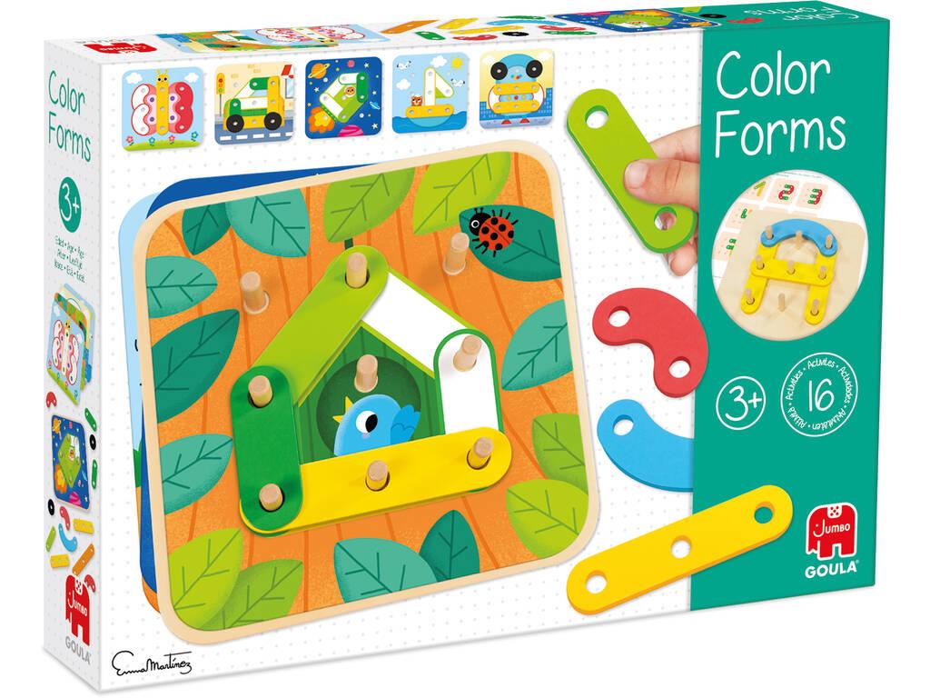 Formes de couleur Goula 53474