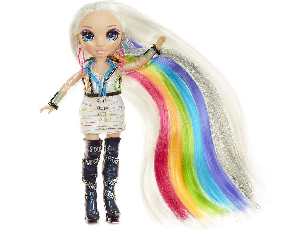Rainbow High Hair Studio Muñeca Amaya con Accesorios 5 en 1 MGA 569329