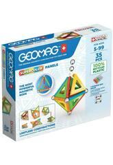 Geomag Panneaux Super Colors verts 35 Toy Partner 377