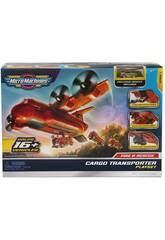 Micromachines Avion de Transport d'Incendie et de Sauvetage Toy Partner