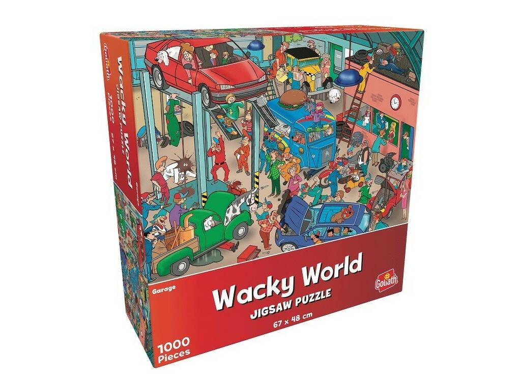 Puzzle 1.000 Wacky World Parking Goliath 919244