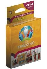 Euro 2020 Ecoblister 7 Buste Panini 9788427871755