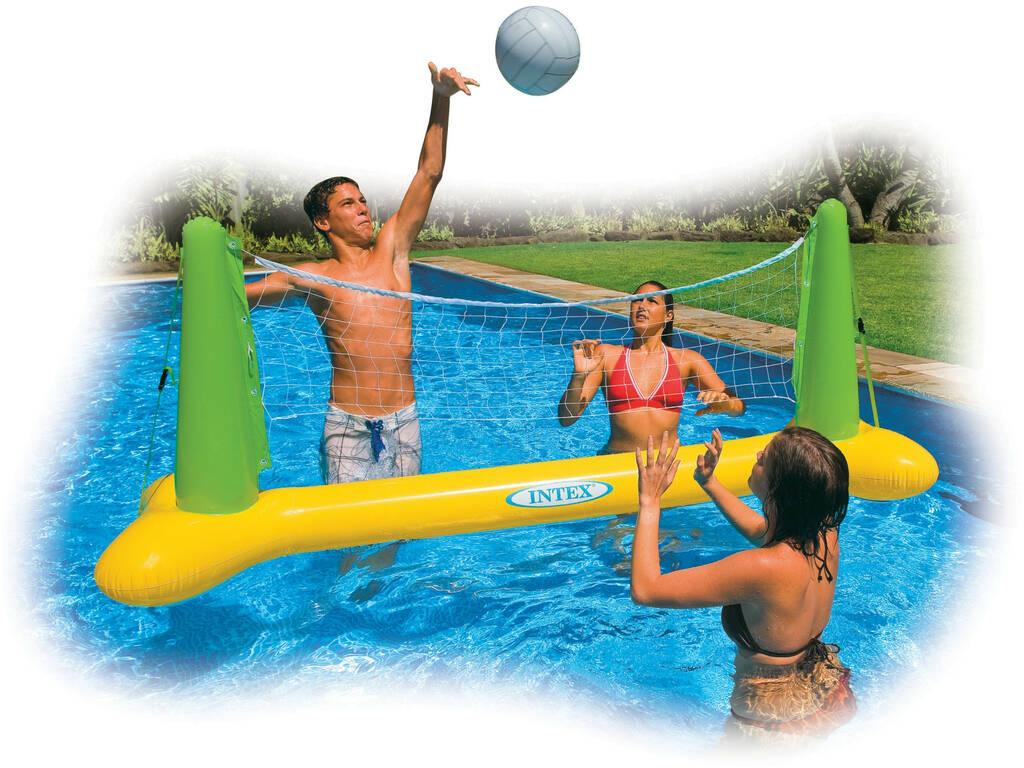 Juego Hinchable Volley Piscina 239x64x91 cm Intex 56508