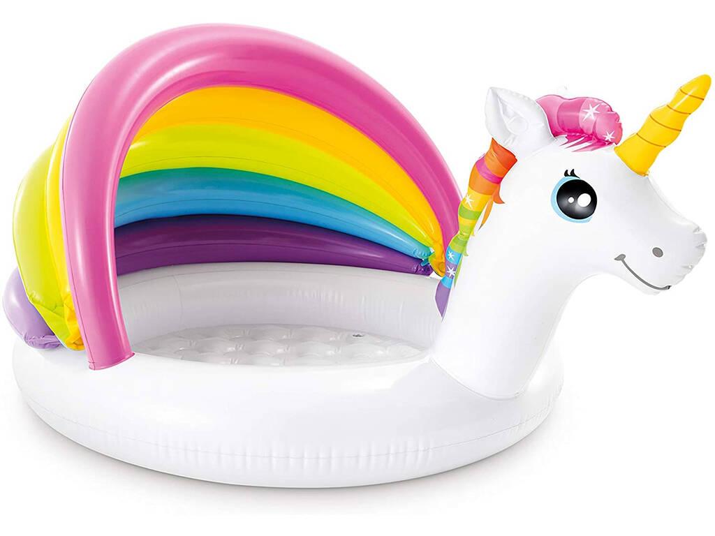 Piscina Hinchable Baby Unicornio 127x102x69 cm Intex 57113