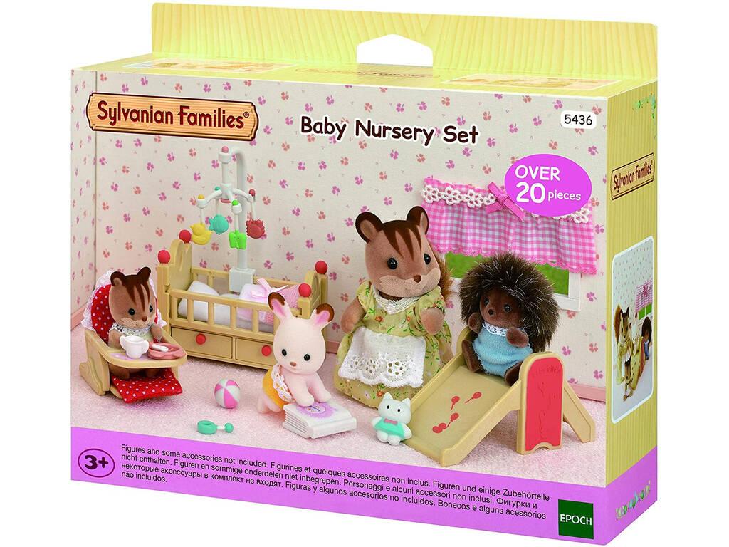 Sylvanian Families Set Dormitorio de Bebés Epoch Para Imaginar 5436