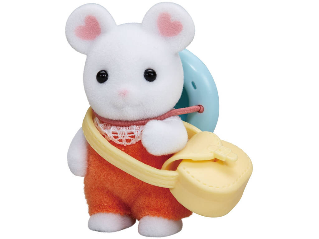 Sylvanian Families Baby Mouse Marshmallow Epoch Mouse To Imagine 5408