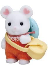 Sylvanian Families Bebé Rato Marshmallow Epoch Para Imaginar 5408