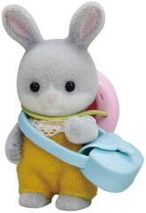 Sylvanian Families Bébé Lapin Queue de Coton Enoch Baby Rabbit To Imagine 5416