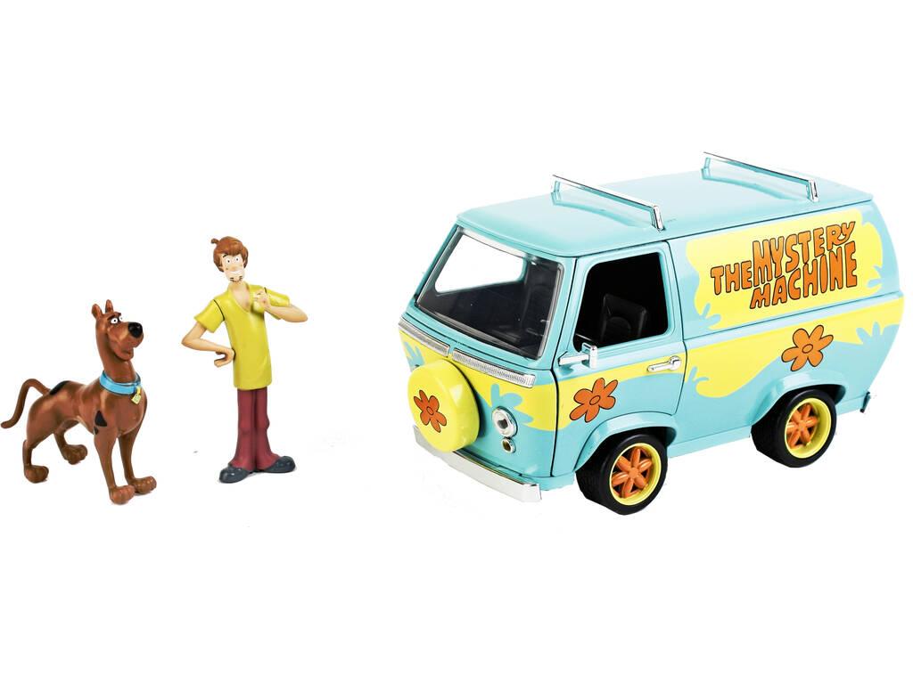Scooby Doo Furgoneta Mistery Machine 1:24 con Figuras Simba 253255024