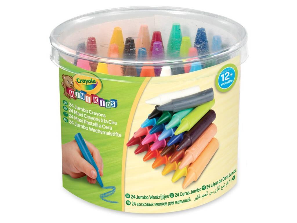 24 Ceras Jumbo Lavables Crayola 784