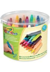 24 Jumbo Washbare Wachse Crayola 784