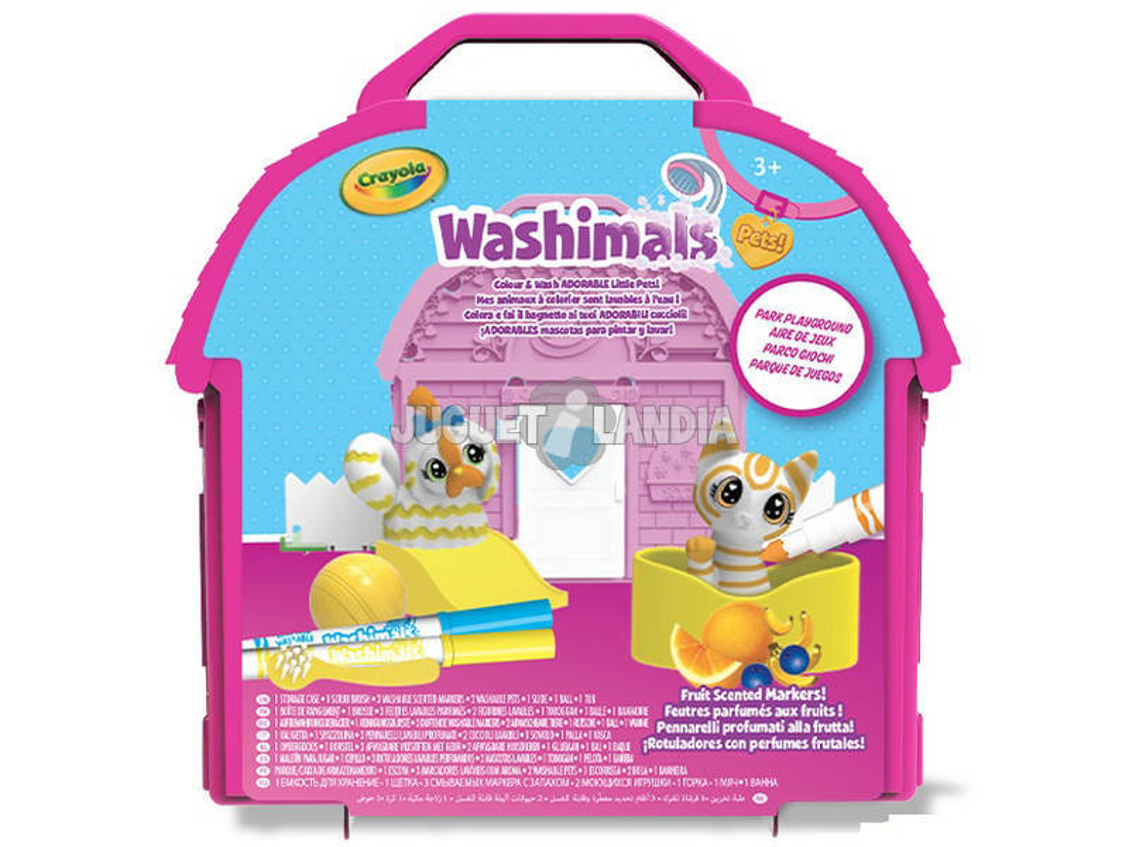 Washimals Parque De Juegos Crayola 74-7432