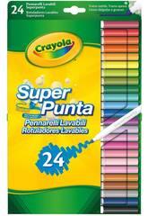 24 Crayola 7551 Crayola Super Washable Super Sharpeners