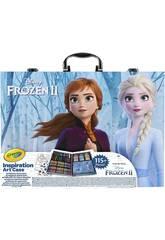Maletín Del Artista Frozen 2 Crayola 04-0635