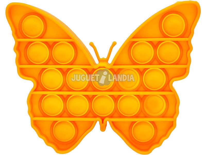 Pop It Mariposa Naranja