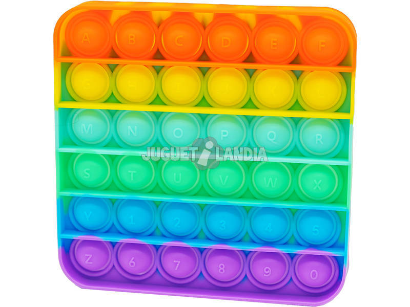 Pop It Cuadrado Rainbow
