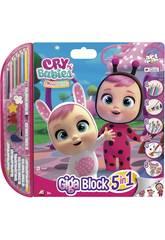 Crafts Giga Block Crying Babies Cefa Toys 21813
