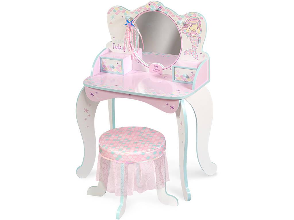 Table à langer en bois Ocean Fantasy avec accessoires DeCuevas 55541