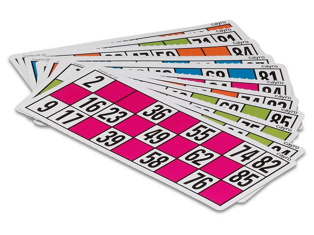24 Cartones Lotería Bingo Cayro C-24
