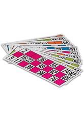 48 Cartes de loterie de bingo Cayro C-48