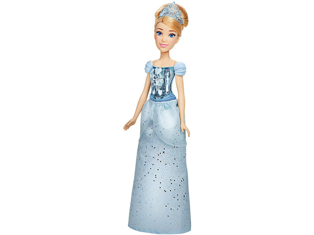 Muñeca Princesas Disney Brillo Real Cenicienta Hasbro F0897