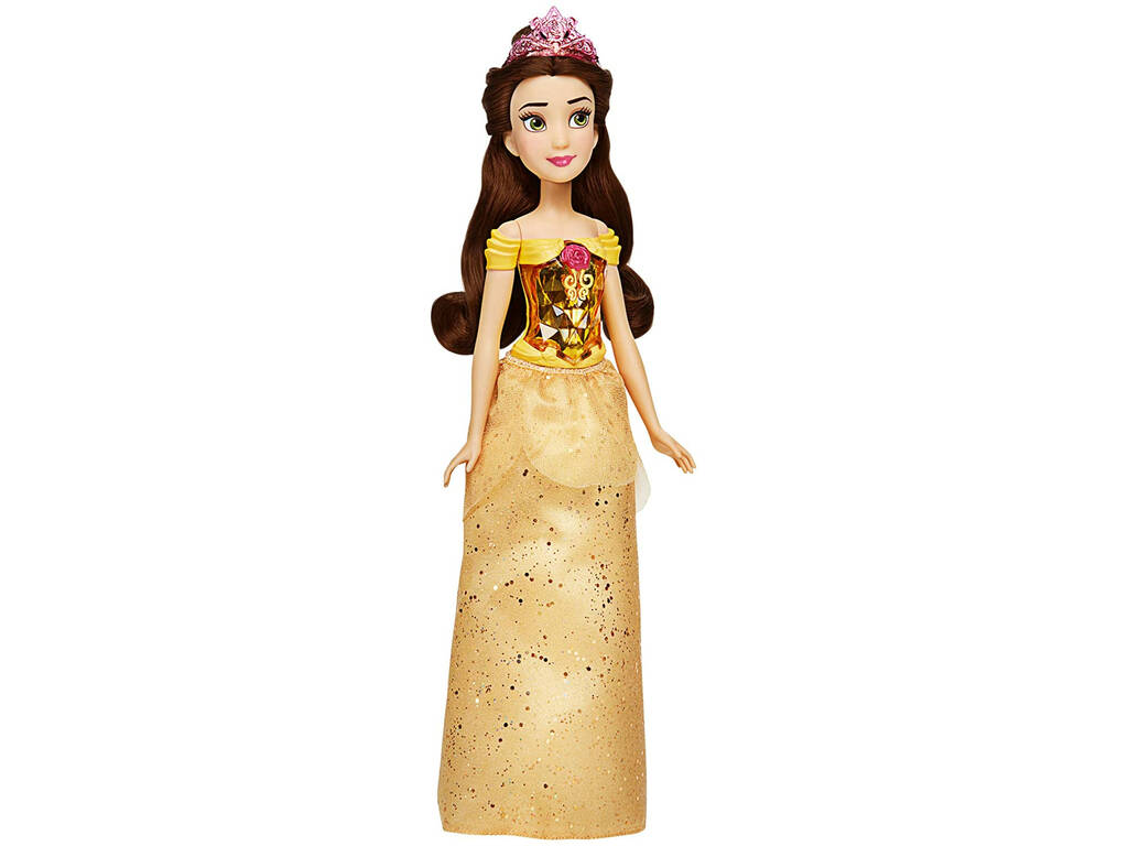 Muñeca Princesas Disney Brillo Real Bella Hasbro F0898