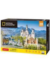 Puzzle 3D National Geographic Castillo Neuschwanstein World Brands DS990H