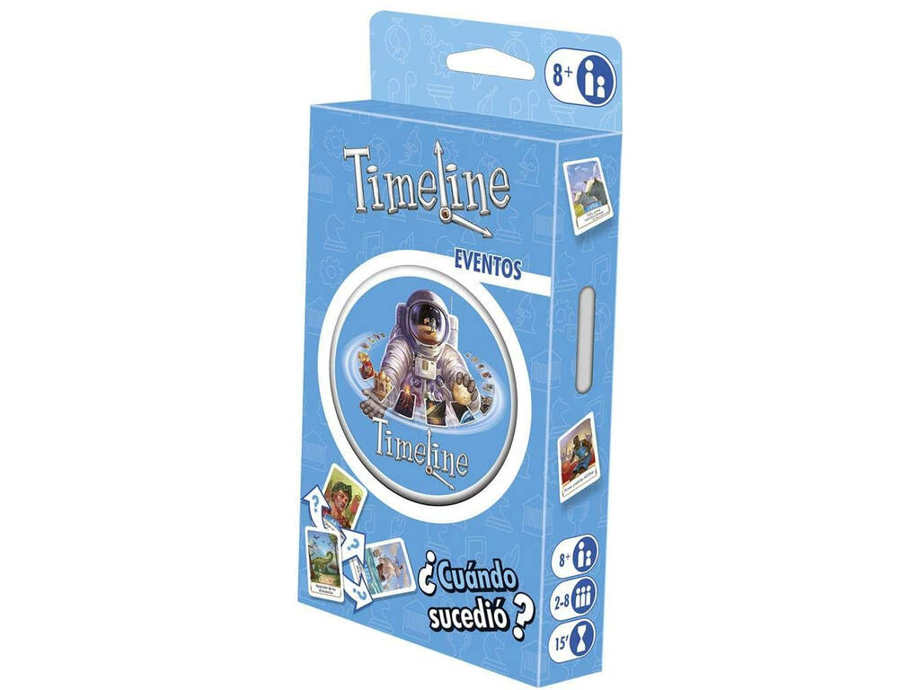 Timeline Blister Eventos Eco Asmodee TIMEECO02ES