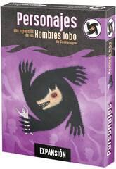 Los Hombres Lobo de Castronegro Expansión Personajes Asmodee LOB04ES