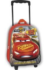 Mochila Trolley con Ruedas Cars 3D Toybags T810-128
