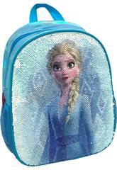 Sac à dos 2 en 1 Frozen Elsa et Anna avec sequins réversibles Toybags T300-120