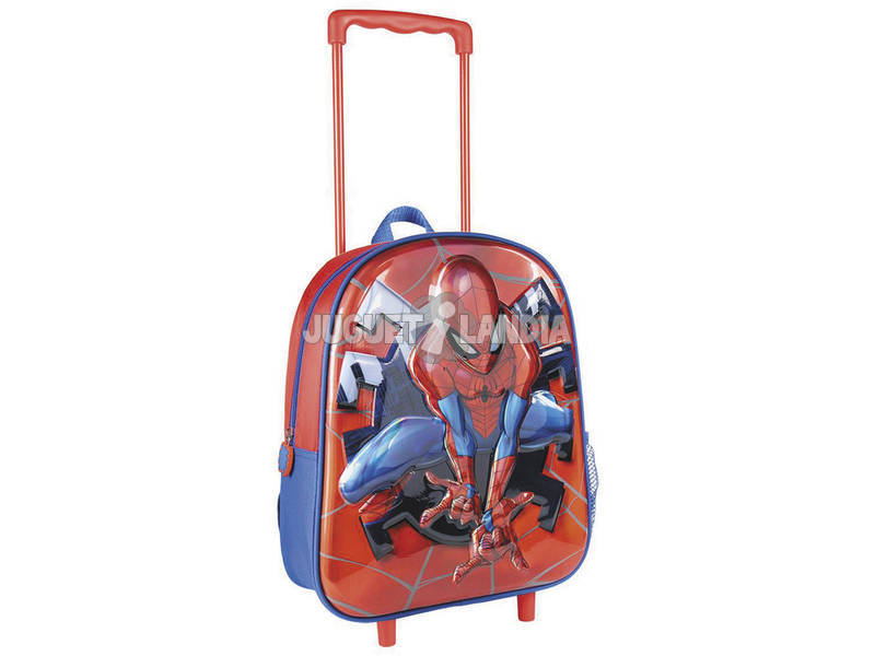 Mochila Trolley Spiderman 3D Toysbags T810-127
