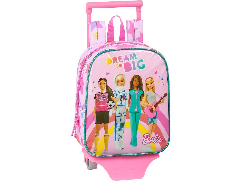 Barbie Dream So Big Safta 612010280 Sac à dos avec chariot Garderie Barbie Dream So Big