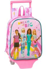 Kindergartenrucksack mit Trolley Barbie Dream So Big Safta 612010280