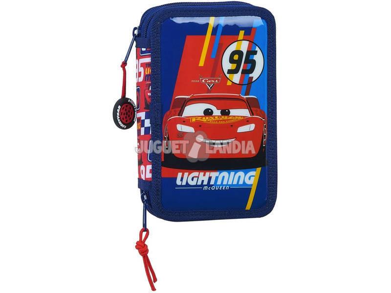 Trousse à crayons Double Small 28 Pièces Cars Racing Block Safta 412011854