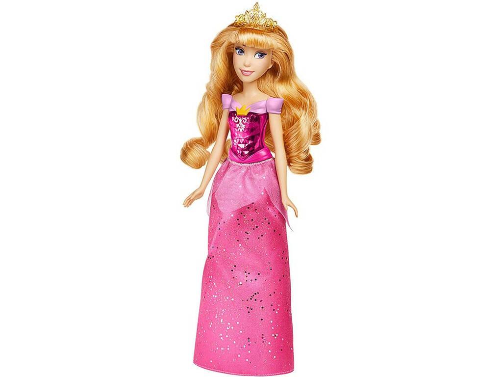 Muñeca Princesas Disney Aurora Brillo Real Hasbro F0899