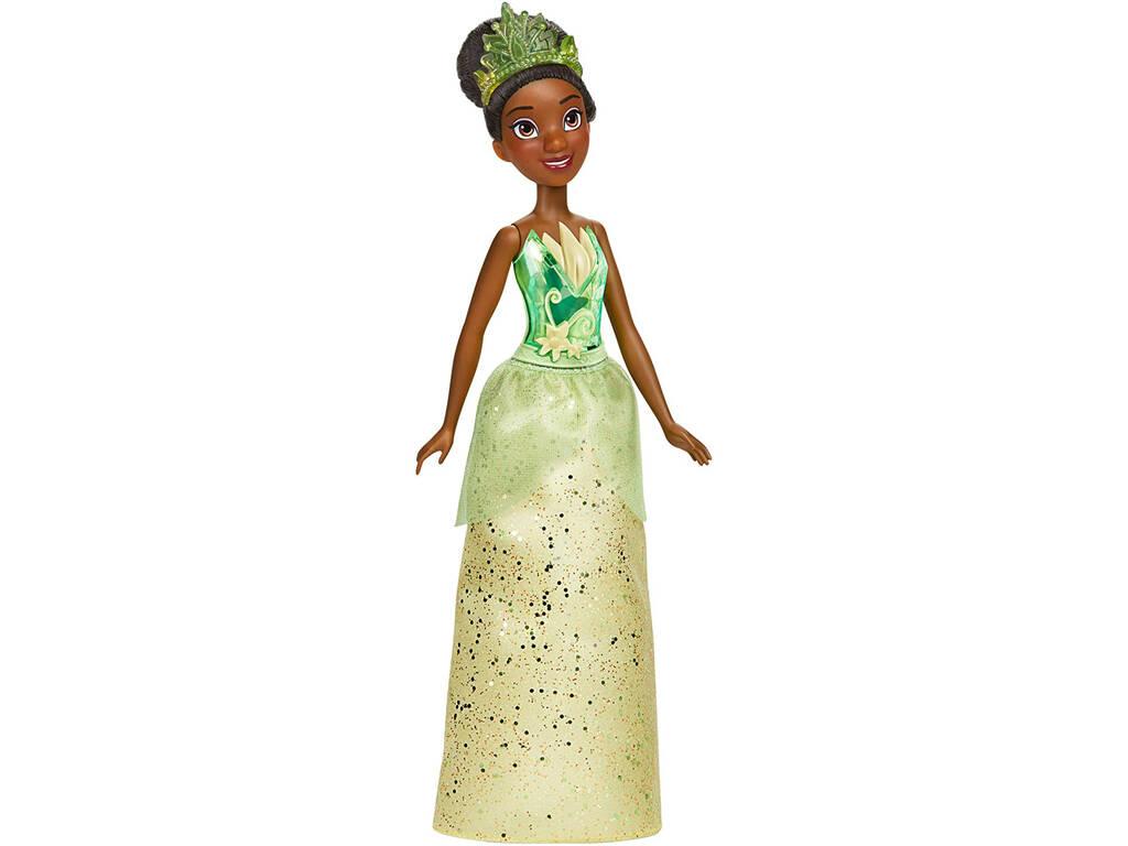 Muñeca Princesas Disney Tiana Brillo Real Hasbro F0901
