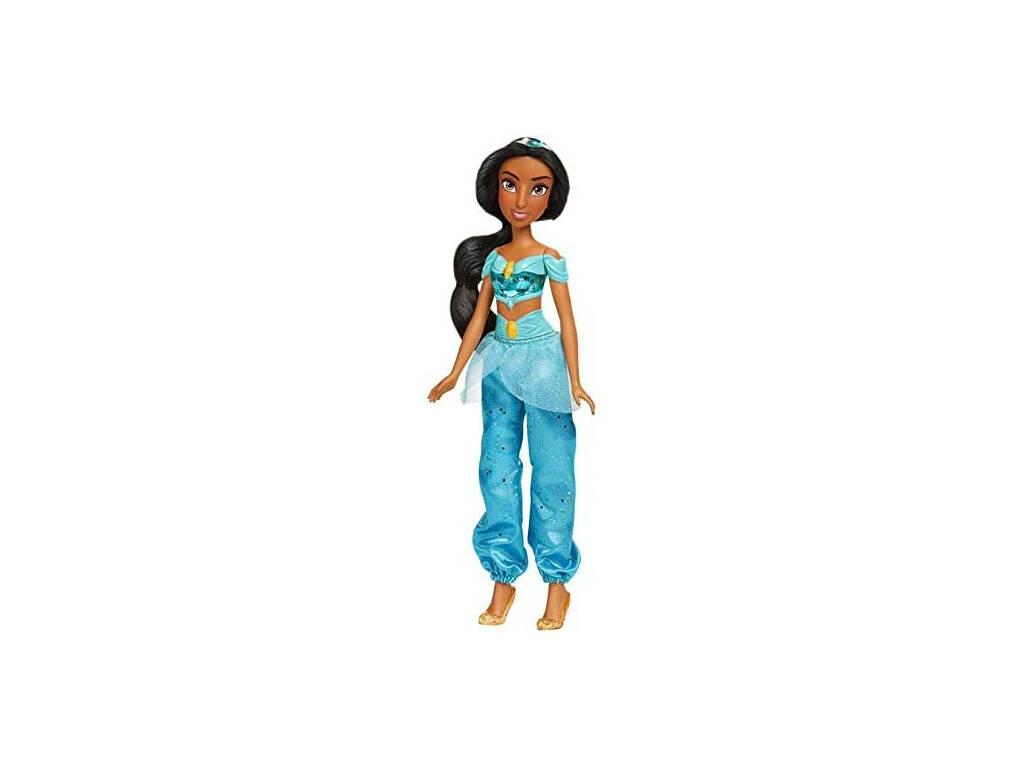 Muñeca Princesas Disney Jasmine Brillo Real Hasbro F0902